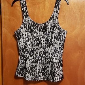 NWT Express lace corset top